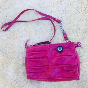 The Sak Women's Pink Leather Crossbody Purse 👛.